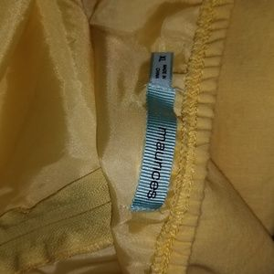 Maurices Dresses - Maurices Yellow Embroidered Cotton Sundress - XL